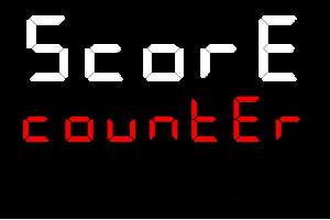 Score counter logo